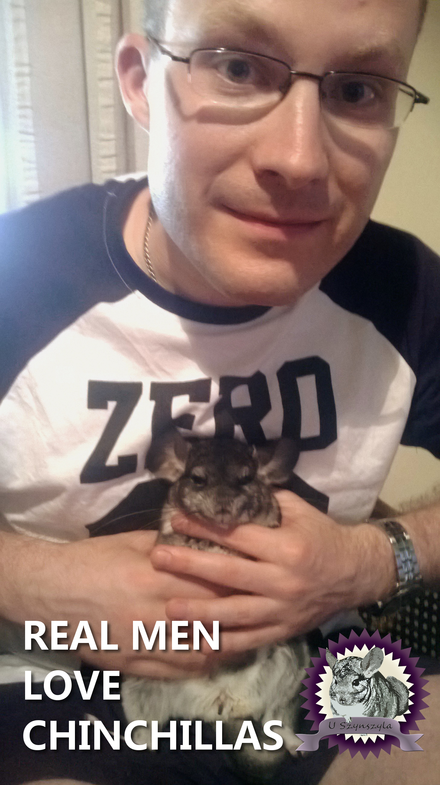 U Szynszyla konkurs real men love chinchillas