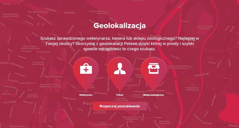 Petsee.pl - portal społecznościowy dla miłośników zwierząt
