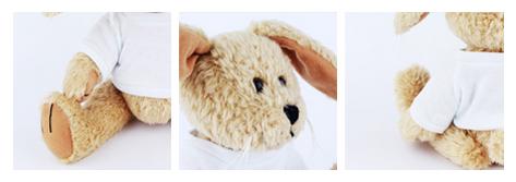 pomysł na prezent na Dzień Dziecka - królik maskotka