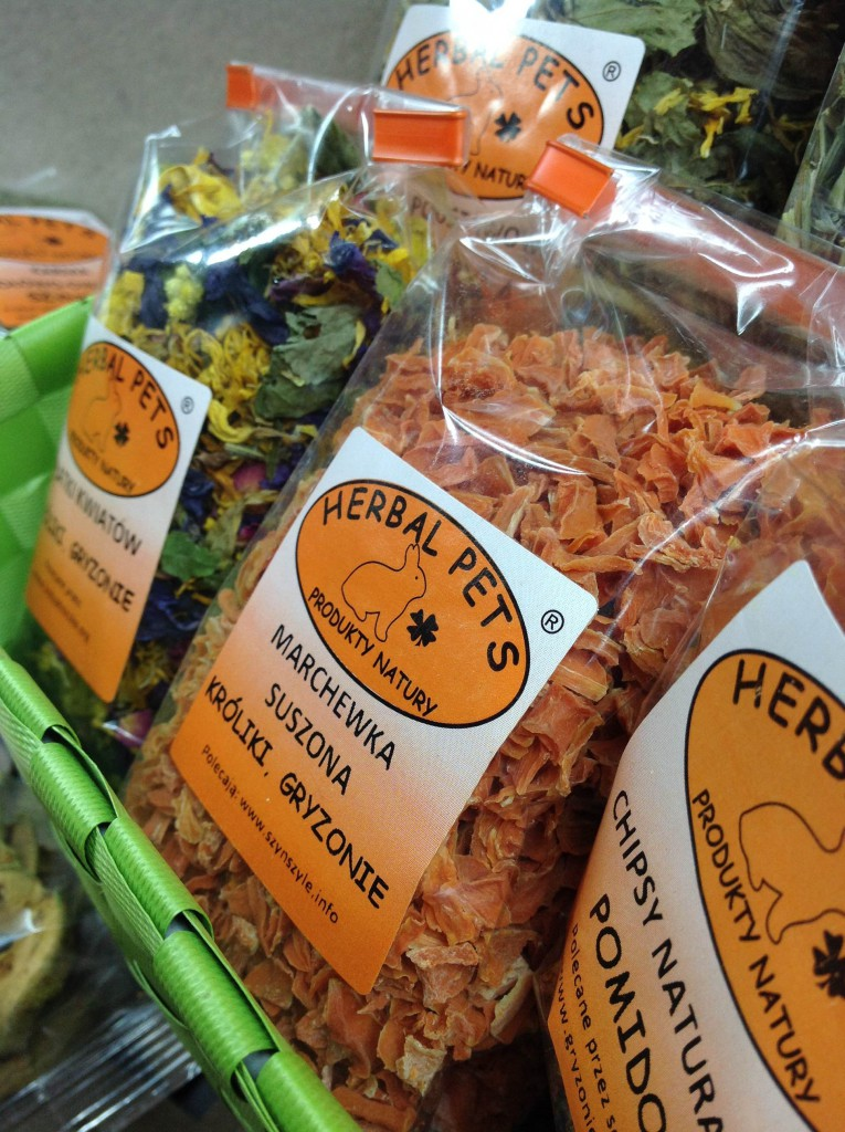 Herbal Pets - karma dla szynszyli - jedzenie dla gryzoni