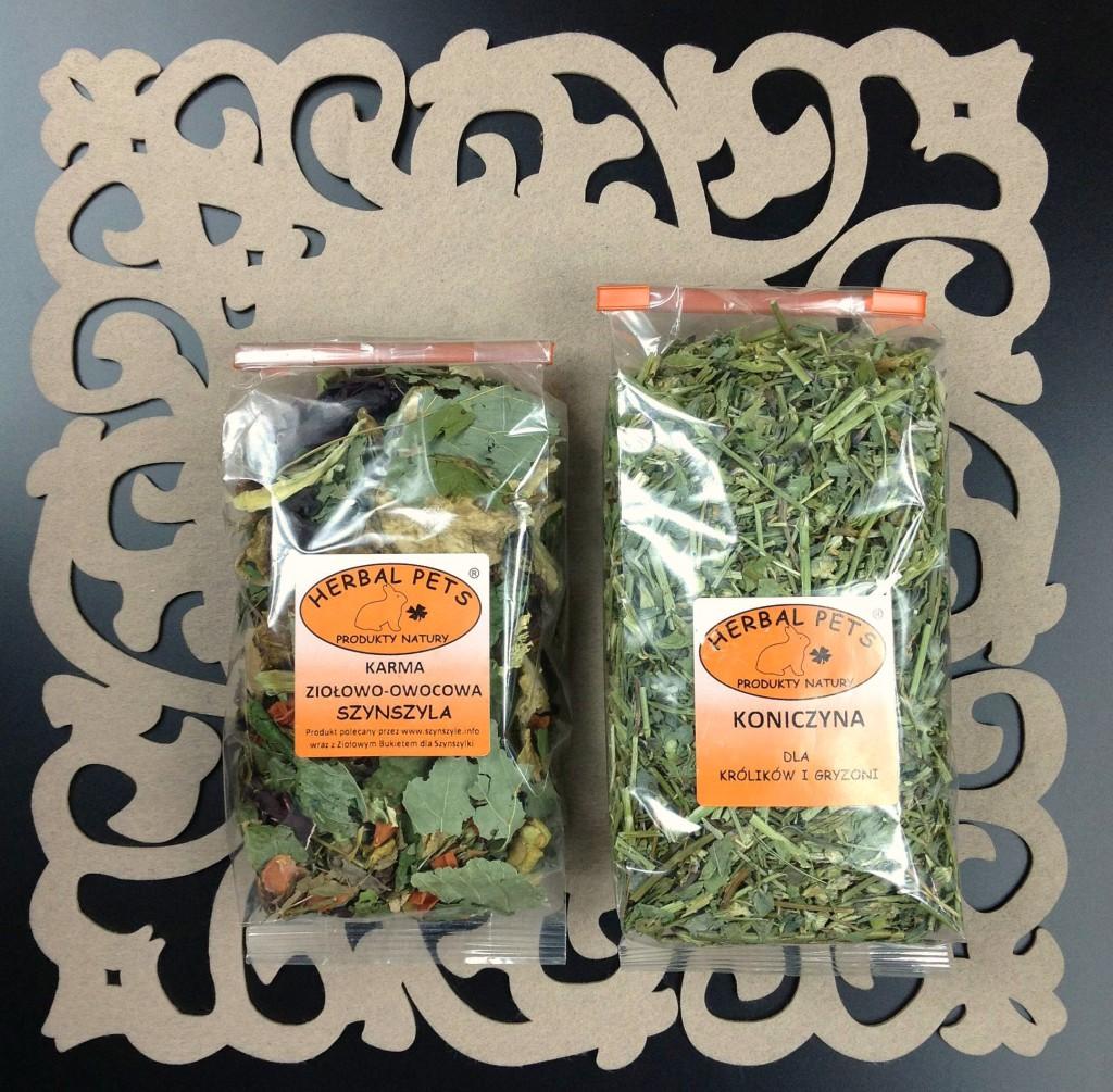 Herbal Pets - zioła dla szynszyli, koniczyna dla gryzoni