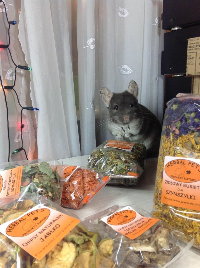 Herbal Pets - jedzenie dla szynszyli