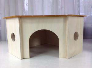 drewniany domek dla szynszyli - cena - pinokio - internetowy sklep zoologiczny